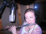 Caragh Nugent in the studio