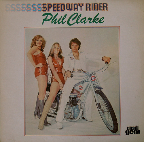 phil clarke lp cover