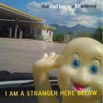 I Am a Stranger Here Below cover art