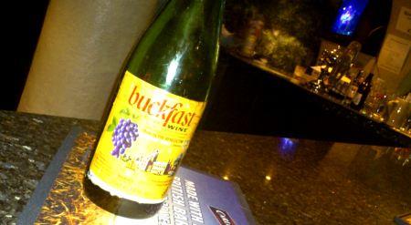bottle of tonic wine